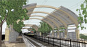 Las Colinas Carpenter Ranch Station rendering