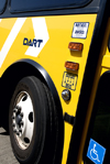 Image of a DART bus