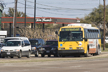 Image of a DART bus on Lovers Lane