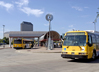 Image of DART buses at North Irving Transit Center