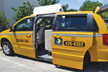 Image of a  Yellow Cab Van vehicle