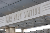 Fair Park Station sign