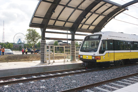 The MLK, Jr. Station is expected to be a new economic engine in South Dallas - attracting new businesses and connecting residents to jobs, services and activities throughout the greater Dallas area.