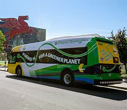 Electric DART buses, now serving Route 52