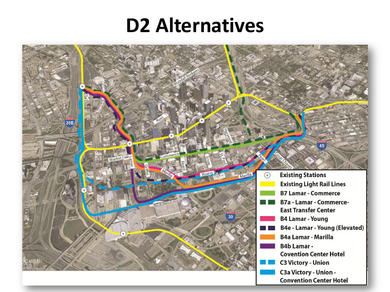 D2 Alternatives Map