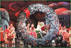 Dr. Seuss' How the Grinch Stole Christmas - The Musical 2007 Broadway Cast. Photography: Paul Kolnik