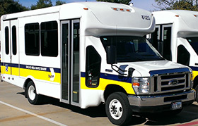 DART Paratransit Vehicle