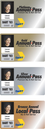 DART Annual Passes images