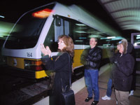 Image of DART Light Rail Train in Plano