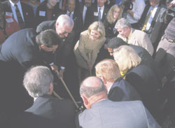 Golden Spike Ceremony on November 30th