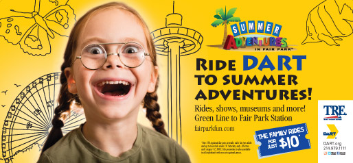 Ride DART to Summer Adventures