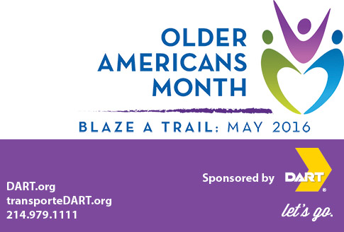 Older Americans Month - Blaze A Trail: May 2016