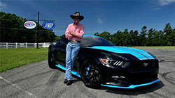 Richard Petty and Richard Petty Motorsports have donated this stunning custom Petty Edition 2015 Ford Mustang GT to the Paralyzed Veterans of America.