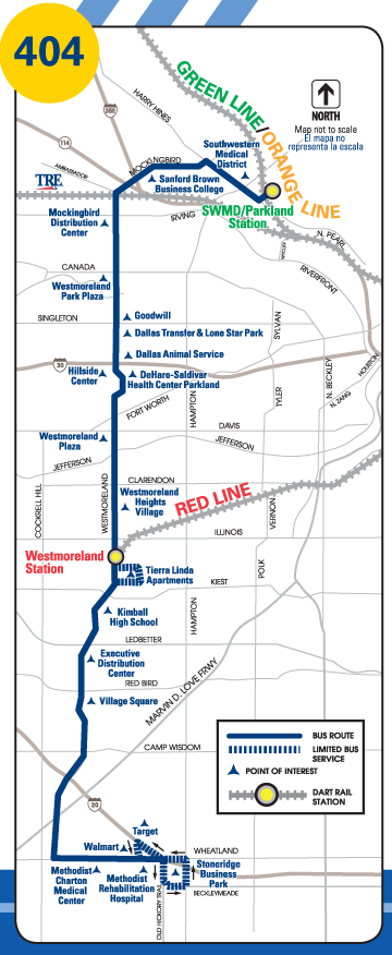 Route 404 Map