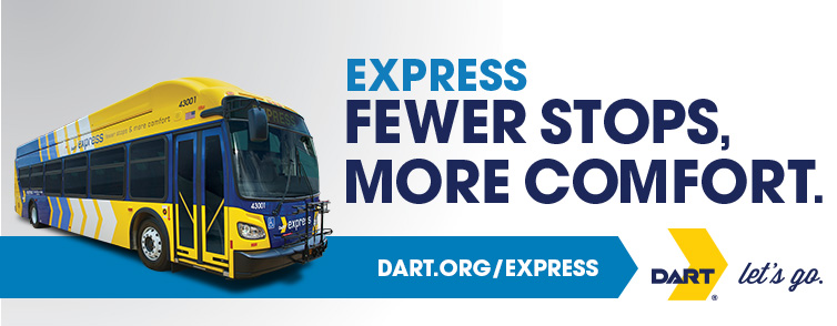 Express: Fewer Stops, More Comfort