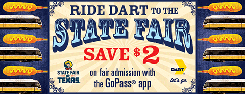 View more information about DART service to the State Fair of Texas