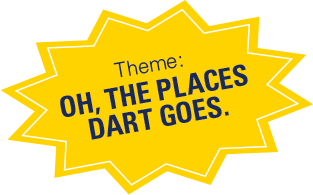 Theme: Oh, the places DART goes.