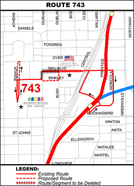 Museum Express (Route 743) Map